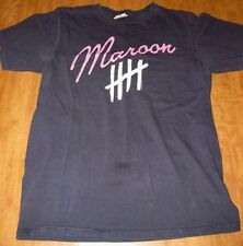 MAROON FIVE old logo med T shirt This Love pop rock beat-up tee