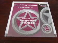 LEGENDS KARAOKE CD+G VOL 130 WEDDING SONGS VOL 1  NEW