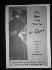 SIGNED 'The Man Who Hunted Jack The Ripper' Card, Nicholas Connell/Stewart Evans