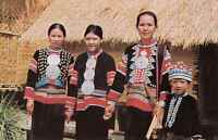 Thailand - CPSM - the Lahu Familie