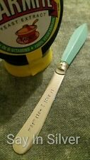 Spread Knife -personalised-vintage gift.butter marmite jam nutella silver plate