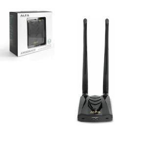 Alfa AWUS036ACH Dual Band USB Adaptor AC1200 Long-Range Wireless USB 3.0 Wi-Fi