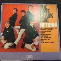Record Album The Dave Clark Five Return! LP VG