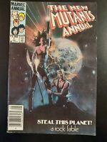 (2) The NEW MUTANTS #1 Annual (1984 MARVEL Comics) LOW GRADE Book