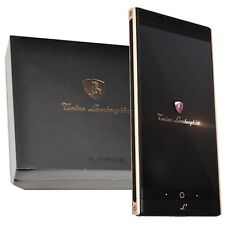 New Tonino Lamborghini Alpha One 64GB Gold-Black Dual-SIM Factory Unlocked GSM