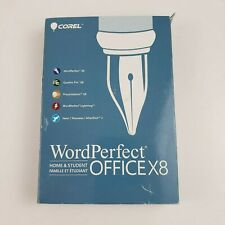 Corel WordPerfect Office X8 Home and Student Edition DVD