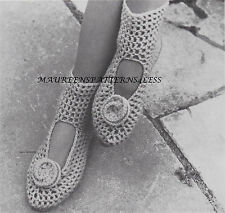 Crochet Pattern to MAKE Apres Ski Socks / Slippers quick n easy DK
