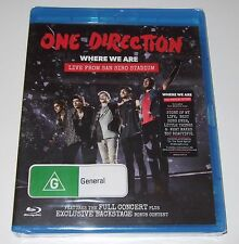 One Direction - Where We Are - Live From San Siro Stadium (Blu-ray, 2014) new