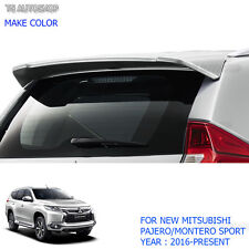 Rear Back Tailgate Roof Spoiler Fits Mitsubishi Pajero QE Montero Sport 2016 17