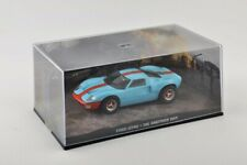 Metal Modellauto 1:43 Diorama Ford GT40 James Bond 007 Die Another Day