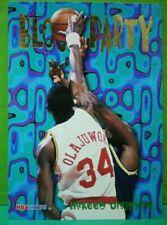 Hakeem Olajuwon card Block Party 95-96 Hoops #8