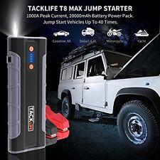 Jump Starter Kit de coche emergencia lleva 1000 A Portátil Powerbank Linterna Led Usb