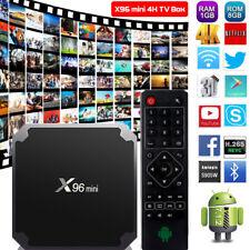 X96 Android 7.1 MINI Nougat Quad Core 4K Media 17.3 HDMI WIFI Smart TV BOX