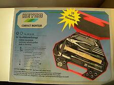 HEYCO Werkzeug-Koffer Compact Monteur 24 Qualitäts Werkzeuge NEU