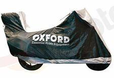 Motorradplane Abdeckplane Aquatex Oxford Motorrad mit Zentralkoffer XL