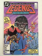 Legends #1 first appearance Amanda Waller Suicide Squad