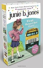 Junie B. Jones's First Boxed Set Ever! (Books 1-4) by PARK BARBARA - NEW