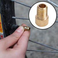 5X Fahrrad Ventil-Adapter DV SV Französisches auf   Bike KFZ Pumpe Neu Pop