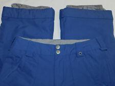 BURTON SNOW SKI PANTS TWC ~TRACKER~LEG LIFTS INSULATED BLUE BOY'S L 14 16~MINT!