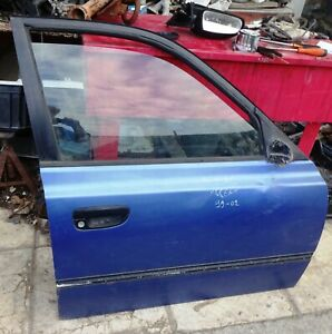 DOOR FRONT RIGHT BARE HYUNDAI ACCENT 5 DOORS MODEL 1999 02 USED
