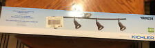"NIB  Kichler 36""W 4-Head LED Bronze-Finish Ceiling TRACK LIGHT"