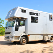 x2 Horses Decals -Horse box Trailer Vinyl Lettering Stickers Decals Graphics (S)