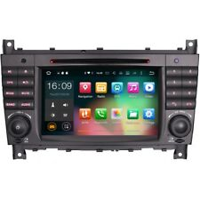 """7"""" Android 6 DAB Radio BT RDS WiFi GPS Sat-Nav Stereo For Mercedes C-Class W203"""