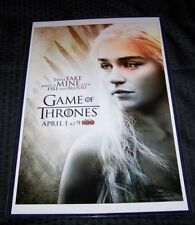 Game of Thrones 11X17 Poster Daenerys Targaryen I will take what is mine...