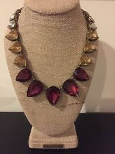 Chloe And Isabel Color Code Plum Teardrop Necklace