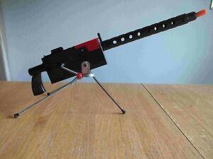 1960's Mattel Toy cap shooting.30 Cal. Machine Gun with Tri-Pod  Works Great!