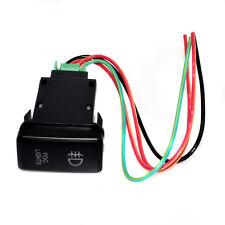 For Toyota Landcruiser Prado Red 12V LED Fog Indicator Light Push Button Switch