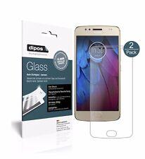 2x Motorola Moto G5s Plus Screen Protector matte Flexible Glass 9H dipos
