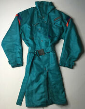 Vintage Spyder Ski Jacket Parka Coat 90's Thinsulate Green Red Size S Small EUC