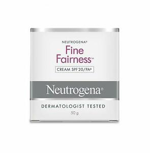Neutrogena Fine Fairness Cream SPF20 - 50gm