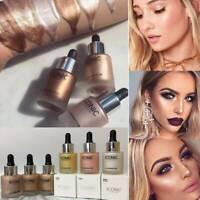 6 Colors Liquid Concealer Highlighter Face Glow Makeup Shimmer Illuminator Oil