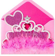 PAPYRUS Greeting Card Wearable Princess Crown Birthday Card