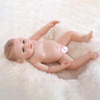 Waschbar Babypuppe Full Silikon Vinyl Girl Realistische Reborn Baby Lebensecht