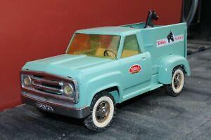 Tonka Dodge Farm Pickup Stake Horse Truck - Pressed Steel - repainted 1968