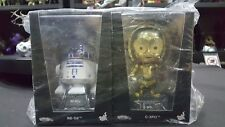 Hot Toys - COSB298 - COSB299 - Star Wars:The Force Awakens - R2-D2-C-3Po Cosbaby