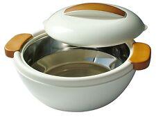 Enjoy Contenitore Termico 1,6 L Bianco-Effetto legno - Mediterraneo