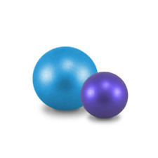 20cm Blue Pilates Ball by Loumet Fitnes. in Packet.
