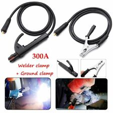300A Ground Earth Clamp Stick Welder Cable For MMA ARC Welding Inverter Machine