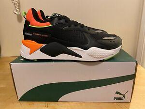 Mens Puma RS-X SR Running Trainer Puma Black/Shocking Orange