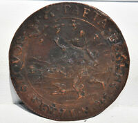 1602 TOKEN JETON The Netherlands DUTCH ZEELAND War of Independence