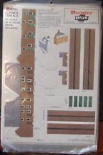 Builder Plus BPN5 Corner Terrace  1970's NOS N Scale