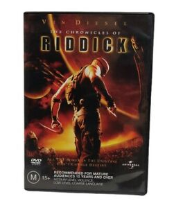 The Chronicles Of Riddick Vin Diesel 2004 DVD Free Tracked Post