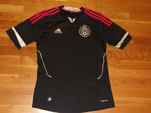 ADIDAS CLIMACOOL MEXICO SHORT SLEEVE SOCCER JERSEY MENS SMALL EXCELLENT