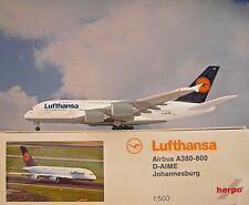Herpa Wings 1:500  Airbus A380-800 Lufthansa D-AIME  515986-004 Modellairport500