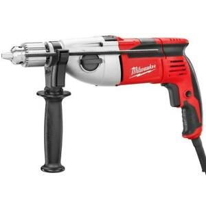 Milwaukee 5380-21 120V AC 1/2-Inch Hammer Drill w/ Chuck Key