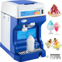 Ice Crusher Maker Commercial Ice Shaver Snow Cone Machine Instrument Bonus Blade